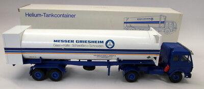 Conrad 1/50 3071 Mercedes Helium Tank Container Messer Griesham Model Truck - Helium Container