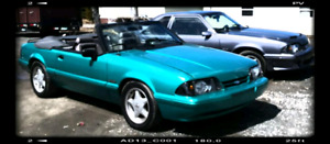 92 Convertable 5.0 l Mustang