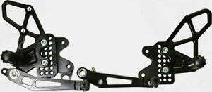 Brand New VORTEX REARSETS Adjustable Suzuki GSXR1000 2009 - 2015