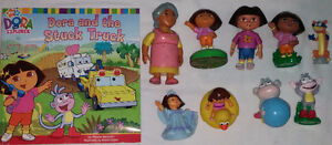 9 set of Qty 9 Dora Toys & Book 1 Set of Qty 9 Diego Toys & Book London Ontario image 5