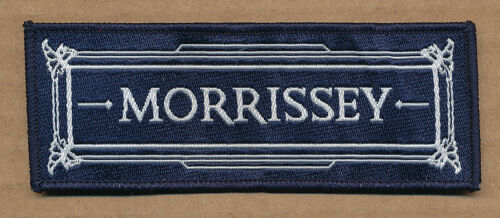 Morrissey Ringleader of the Tormented promo iron-on patch 2008