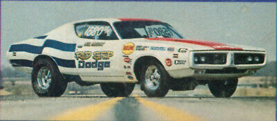 Drag Decal - Fred Cady 465 Rod Shop Charger-Dave Boertman/Bill McGraw drag decal