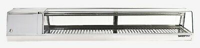 Yoshimasa Sushi Display Case Ymsc-6r 6l 72curved Glass Self-contained