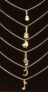 Cool Music Jewelry - necklaces and earrings