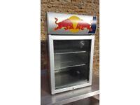 red bull single door drinks fridge