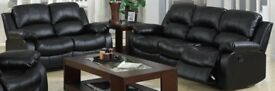Selling set of 2 Recliner Sofas.
