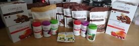 Juice plus , shakes , boosters , new bars , capsules