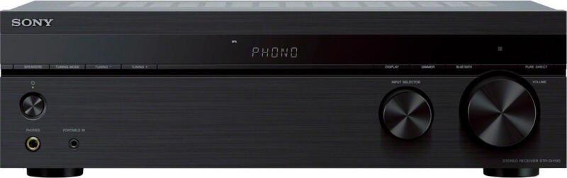 Sony 2.0-Ch. Stereo Receiver with Bluetooth Black STRDH190