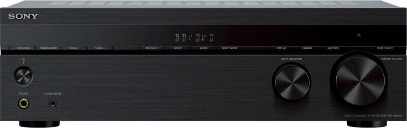 Sony - 725W 5.2-Ch. Hi-Res 4K Ultra HD A/V Home Theater Receiver - Black