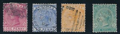 BAHAMAS QUEEN VICTORIA #22, #27 - 29 (1882-90), USED, VF for sale  Shipping to India