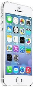 iPhone 5S 32 GB Silver Unlocked -- 30-day warranty, blacklist guarantee, delivered to your door