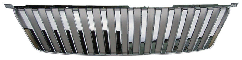 FRONT REPLACEMENT GRILLE FOR LEXUS IS250/IS350 '06-'08 CHROME(VERTICAL STYLE)