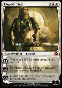 MTG - Elspeth Tirel - Scars of Mirrodin - English - M/NM