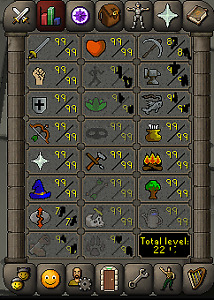 OSRS 2200+ main for sale, 300m+ total xp, all buyables banked