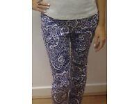 Ladies designer summer trousers