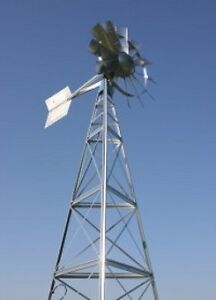 Pond, Lake & Lagoon Windmill Aeration