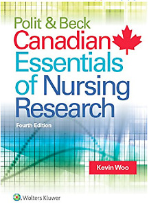 Polit & Beck Canadian Essentials of Nursing Research Fourth Ed.