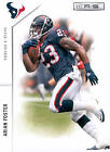 Rookie Single Football Trading Cards Arian Foster