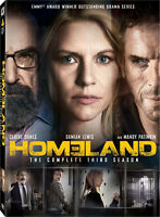 Complete 3rd Season of HOMELAND 4 Disc DVD set $15