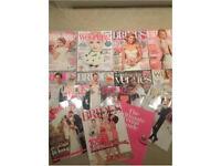 Selection of wedding magazines