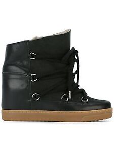 Isabel Marant - Knowles round-toe ankle boots shearling