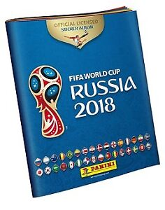 Russie 2018 / Stickers - cartes Panini