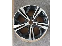 Peugeot 208 GTI alloy wheel 17 inch no buckles or cracks