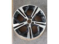Peugeot 208 GTI alloy wheel 17 inch no buckles or cracks