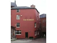 Roebuck Hotel, Yorkshire Street, Rochdale. Joint live-in management couple required.