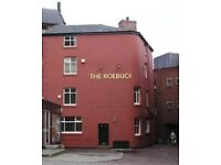 Live-in joint management couple required to run The Roebuck, Yorkshire Street, Rochdale, OL16 1BH