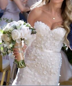 "Beautiful Randy Fenoli ""LINDA"" Wedding Dress"