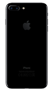 iPhone 7 Plus Jet Black 256 GB *only month old*