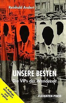 Unsere Besten. Die VIPs der Wendezeit von Reinhold Andert | Buch | Zustand gut