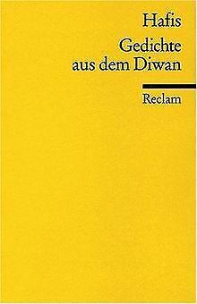 Gedichte aus dem Diwan von Hafiz | Buch | Zustand gut