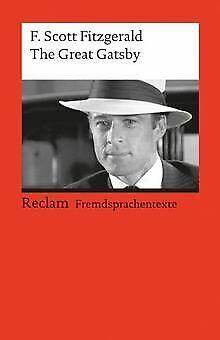 The Great Gatsby: (Fremdsprachentexte) von Fitzgerald, F...   Buch   Zustand gut