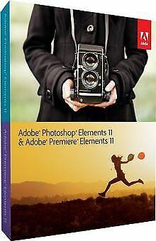 Adobe Photoshop & Adobe Premiere Elements 11 von Adobe | Software | Zustand gut ()