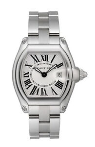 Cartier Tank Anglaise Silver Dial Stainless Steel Ladies Watch Item No.  W5310044 9aa3118dd5