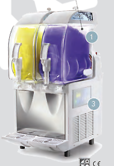 Commercial I-PRO 2E Granita Slushie Machine