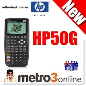 New Genuine HP 50G HP50G Graphics Graphing Calculator – Tax Inv. On Request