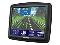 Tomtom xxl clear large view with full uk&European