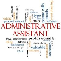 PART-TIME CONTRACT - ADMIN ASSISTANT NEEDED