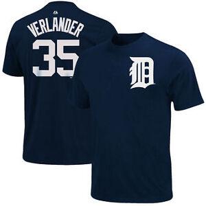 Justin Verlander #35 Name & Number T Shirt at JJ Sports!