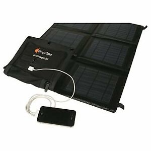 BNIB Solar 20 watt Monocrystalline Folding Panel w USB Port