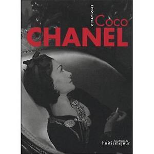 Coco Chanel, citations