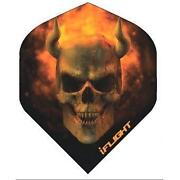Skull Dart Flights