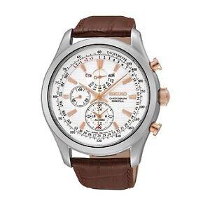 Never worn men's Seiko Perpetual Calendar Chronograph watch.