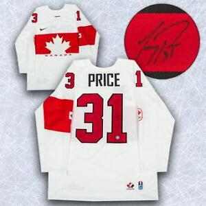 Carey price signed jersey