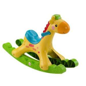 bascule girafe musicale fisher price