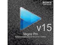 Sony Vegas pro 15 for Windows
