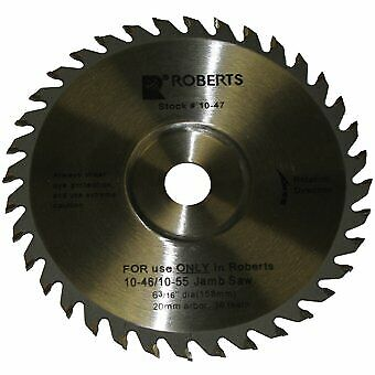 Roberts 10-47-2 6-316-inch 36-tooth Carbide Tip Saw Blade For 10-55 Jamb Saw
